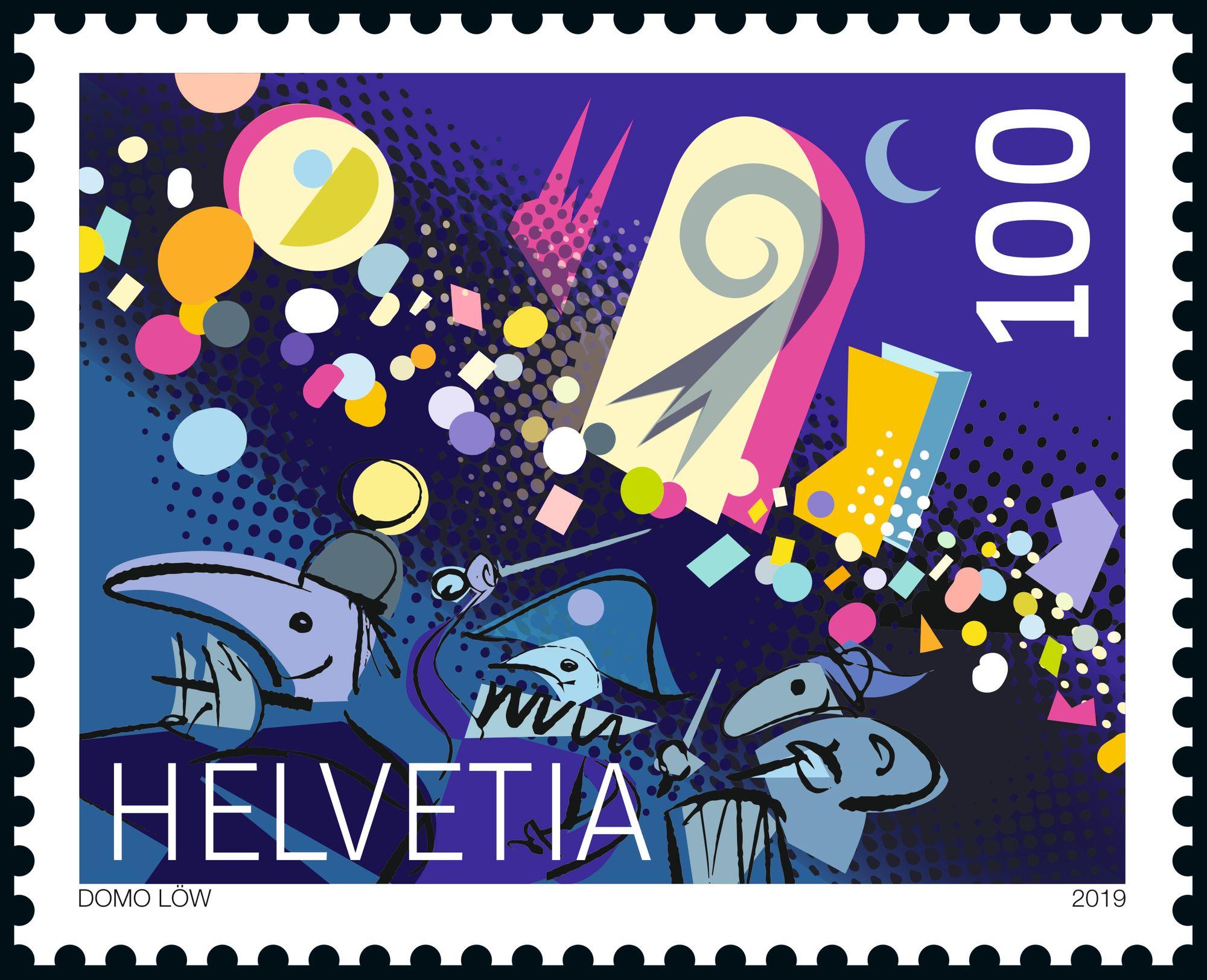 Schweizer Briefmarken 2019