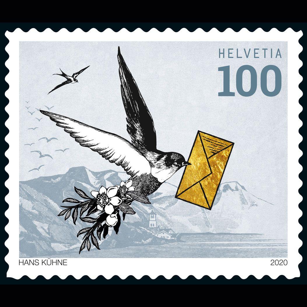 Schweizer Briefmarken 2020